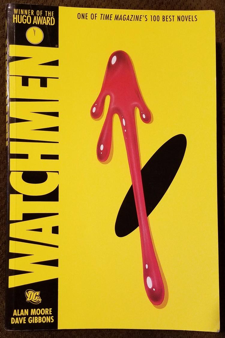 """Read Damn Book – 036: Watchmen - richardfyates   ello"