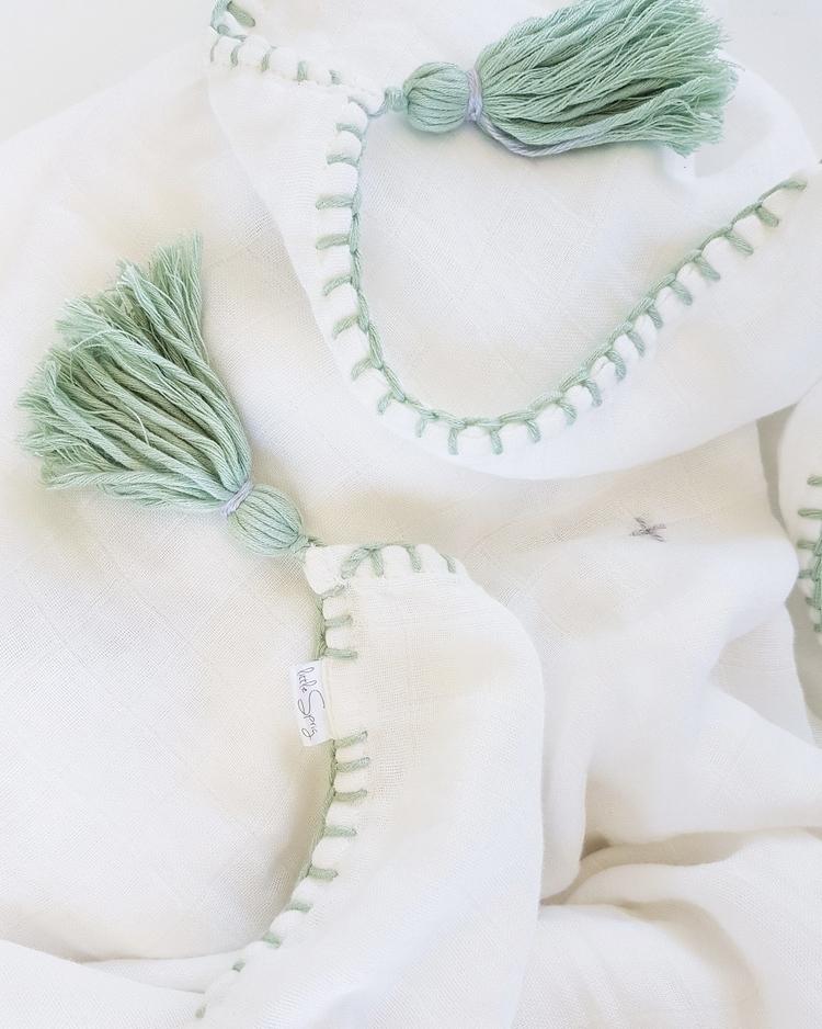 Twilight blanket Sage:herb::wan - littlespriglinen | ello