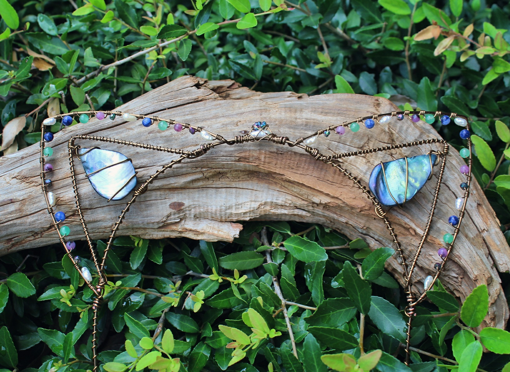 wire wrapped Kitty Ears finishe - moongoddessvibes | ello
