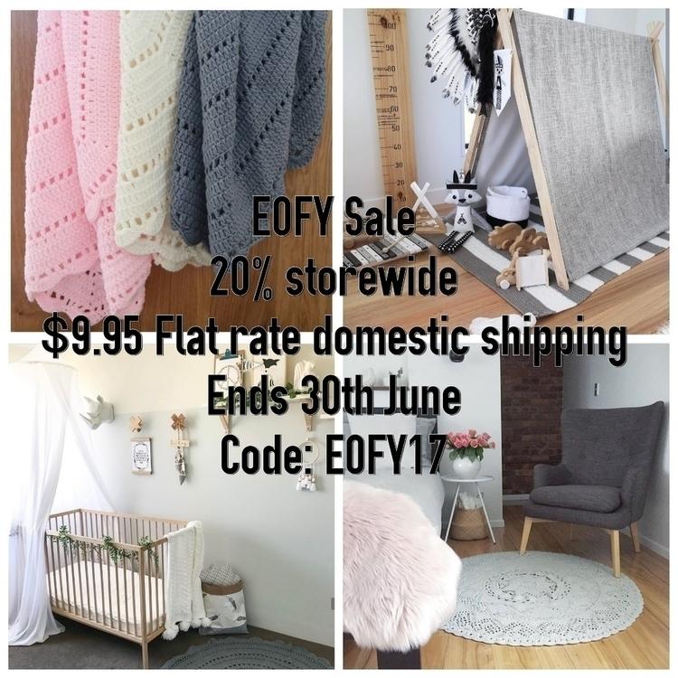 EOFY sale 20% storewide code: E - thesailingsheep | ello