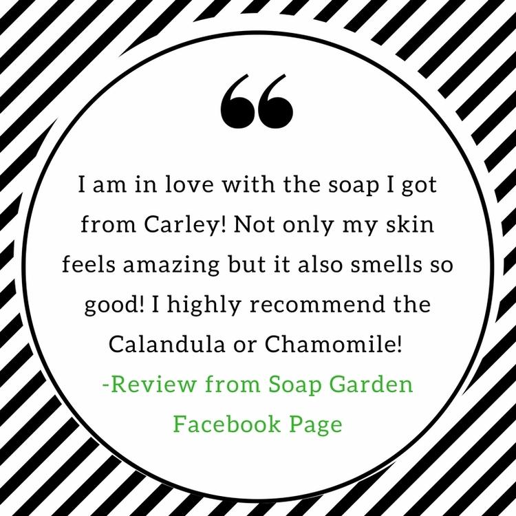 SoapGarden, soap, natural, review - soapgardenbycarley | ello