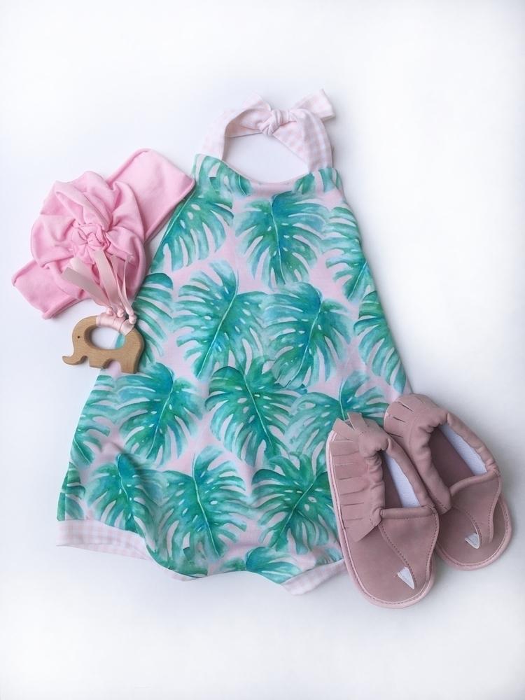 :palm_tree:Palm Paradise Romper - creekbabyco | ello