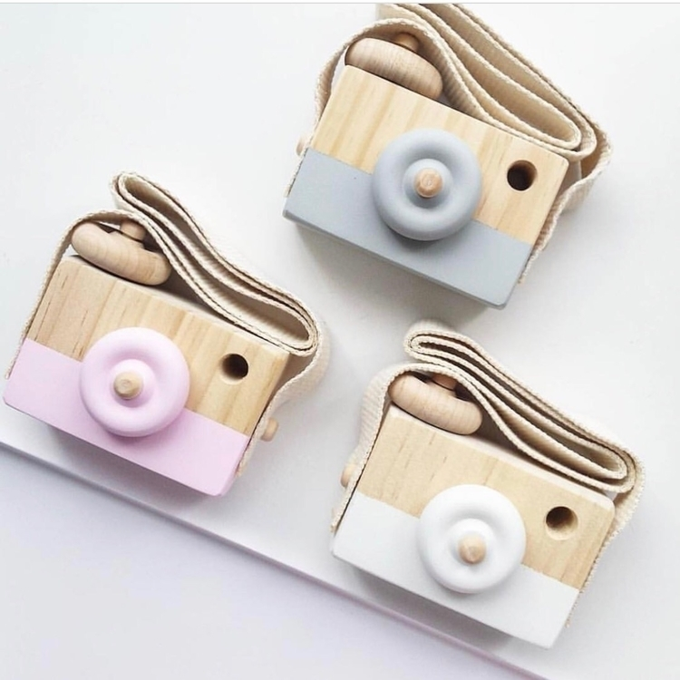 Wooden toy cameras sold cool gi - sweetlittledreams | ello