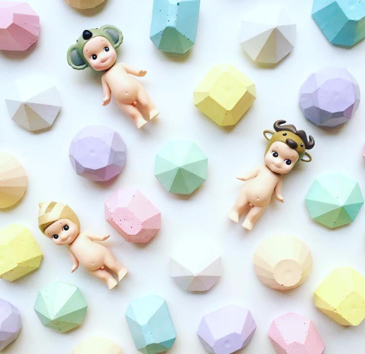 original pastel concrete diamon - sweetyellowdecor | ello