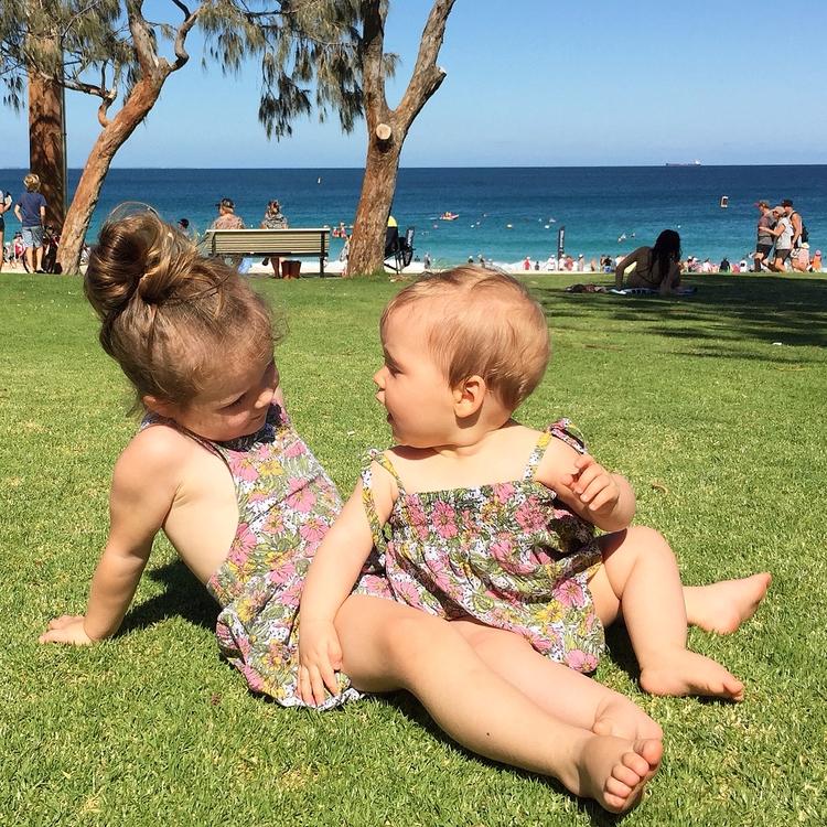Beach days - twinning - me_and_mine   ello