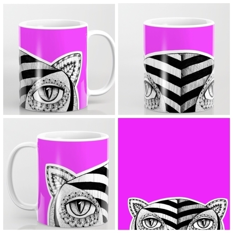 Tiger mugs - mug, officedecoration - trinkl | ello