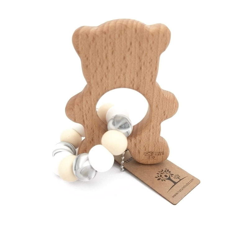 gorgeous custom Ted teether whi - naturebubz | ello