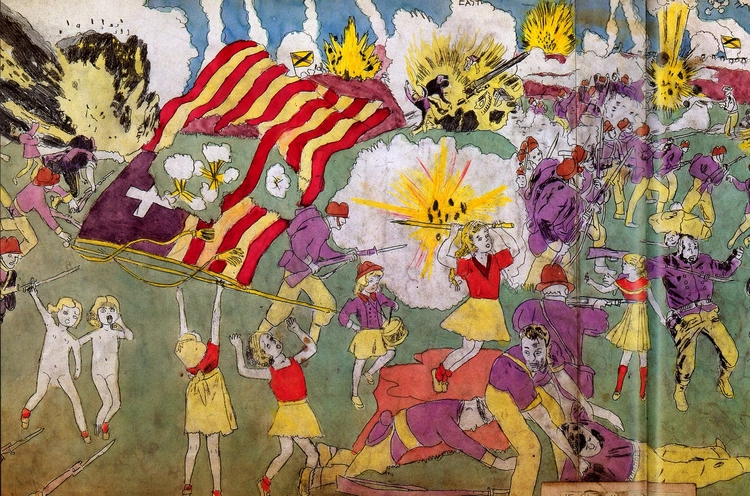 Henry Darger - art, provocative - valosalo | ello