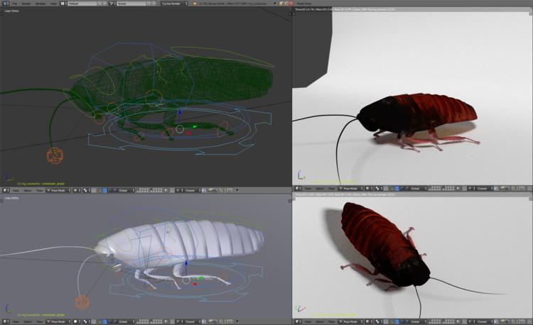 Challenging animation rigging.  - membriskhan   ello
