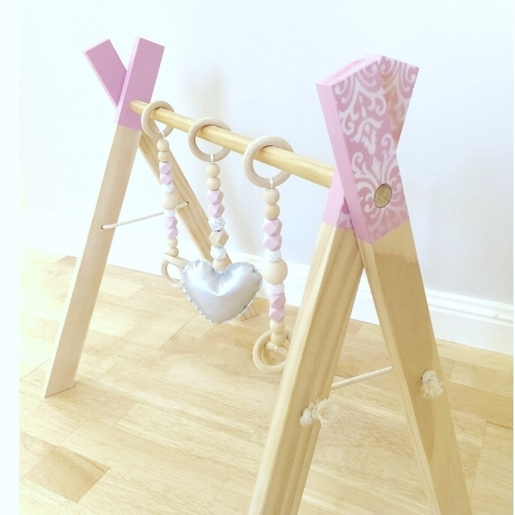 Luxe playgym pink  - luxe, afterpay - wild_indiana   ello