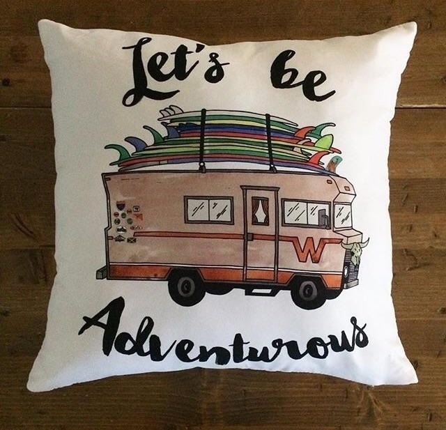 pillows!! hand drawn watercolor - finfirst | ello