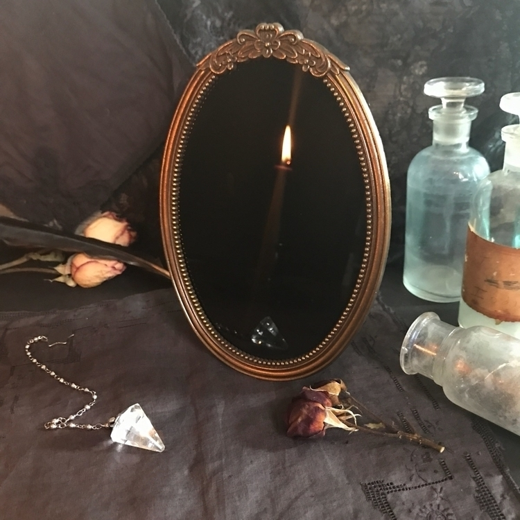 Newly listed black mirror 🖤 - hearthandcrow | ello