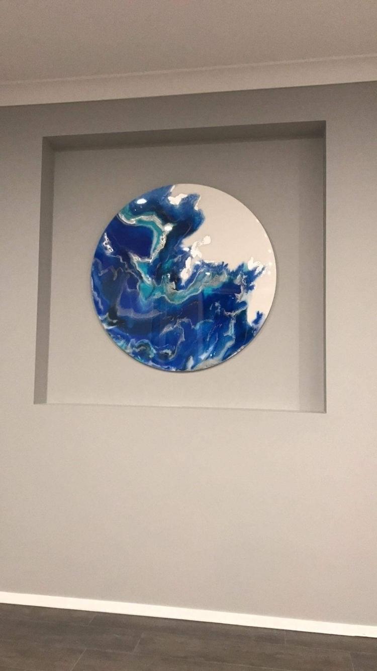 happy custom piece hanging home - arttreecreations | ello