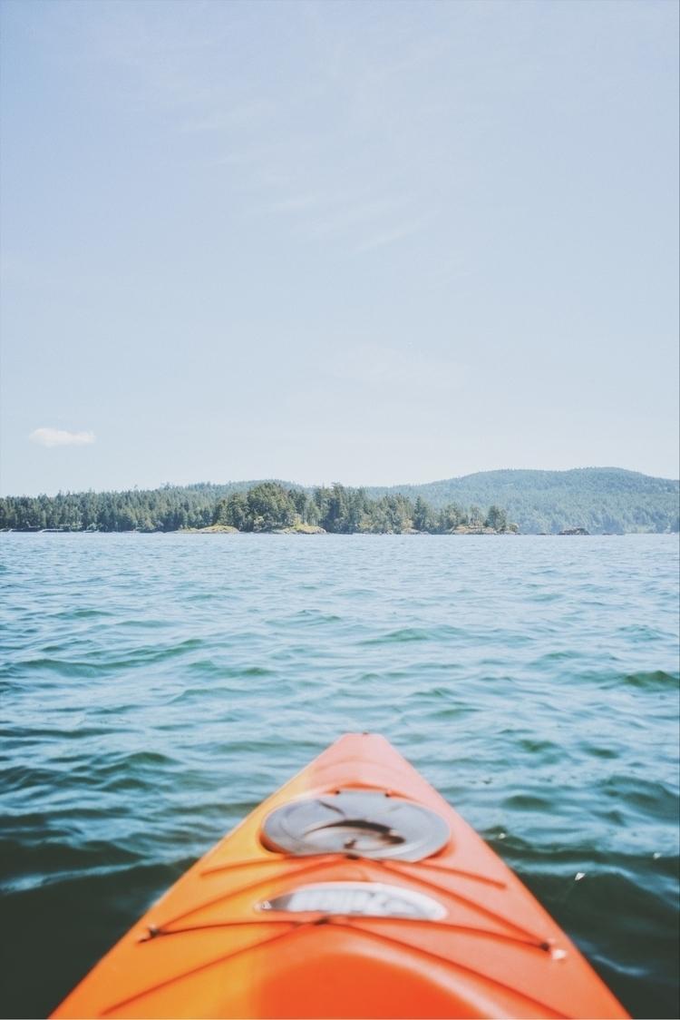ol' kayaks paddle. Whiffin Spit - davidarias | ello
