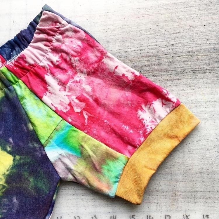 shorts sewing scraps tie dye vo - joyaltee | ello