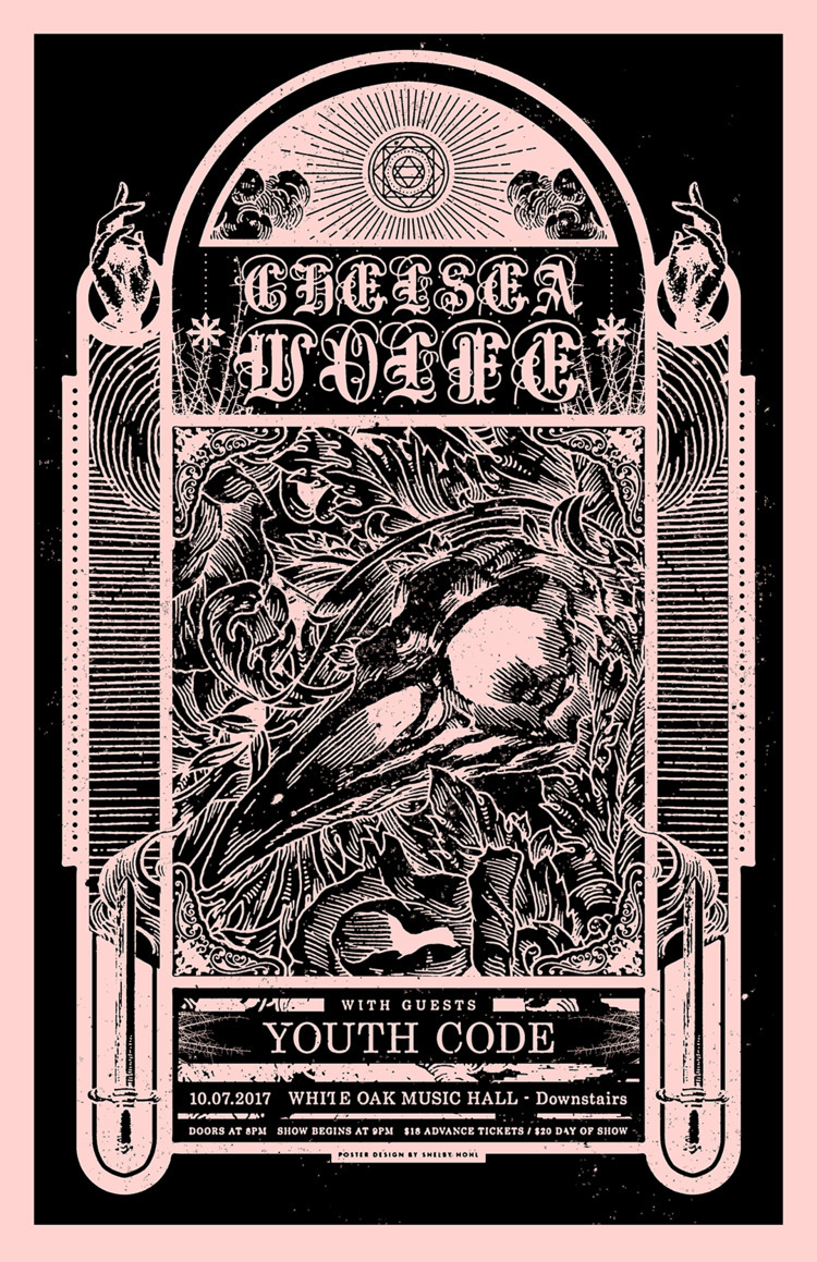 Poster design Chelsea Wolfe You - shelbyhohl   ello
