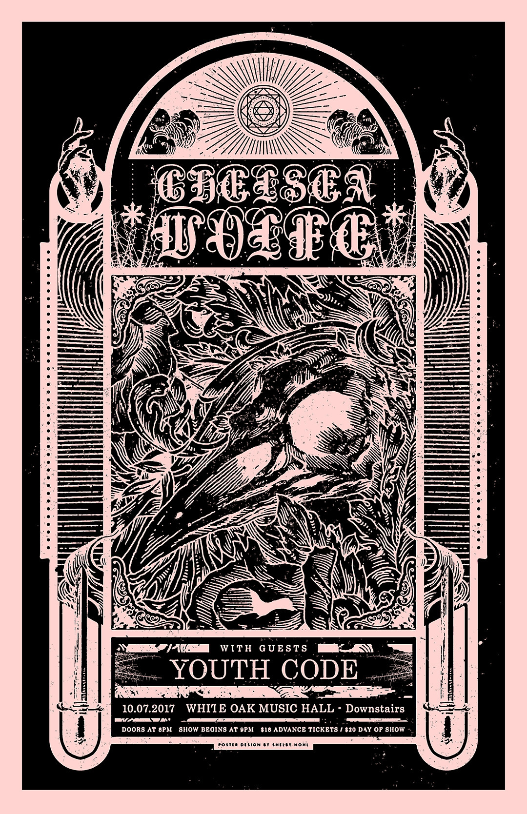 Poster design Chelsea Wolfe You - shelbyhohl | ello
