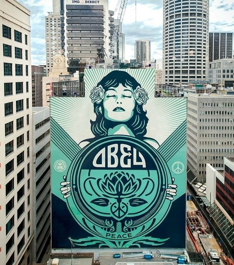Artist: Obey Giant Location: Sy - streetartunitedstates | ello