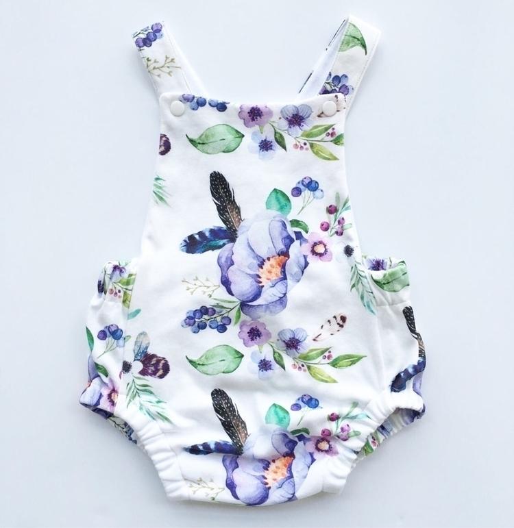 stunning floral sunsuit perfect - babiesandbarnacles | ello