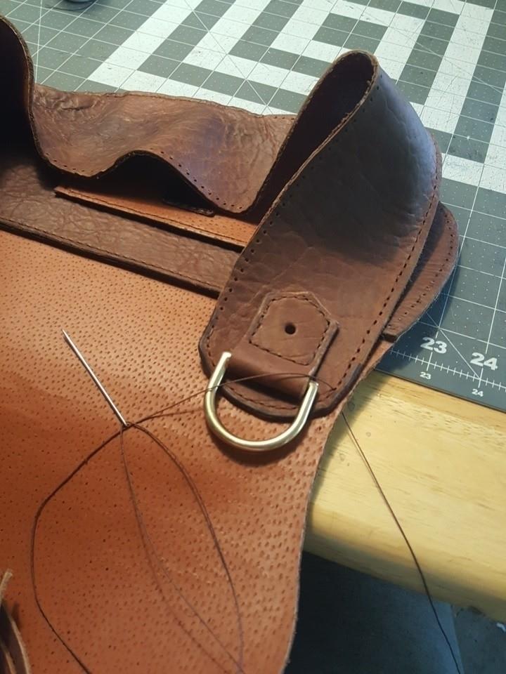 Stitching gusset today Bohemian - thebuckingmare | ello