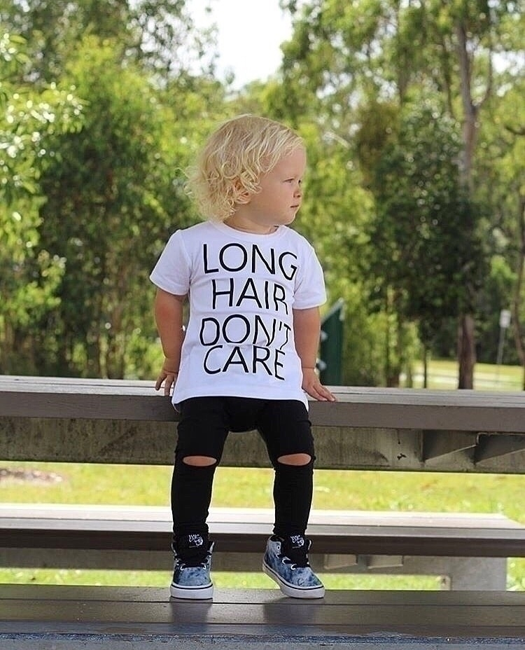 'Long hair care' tees perfect g - threadsbycrd | ello