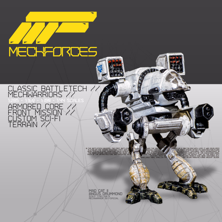 MechForces website online!  - scifi - alejandrofiny | ello