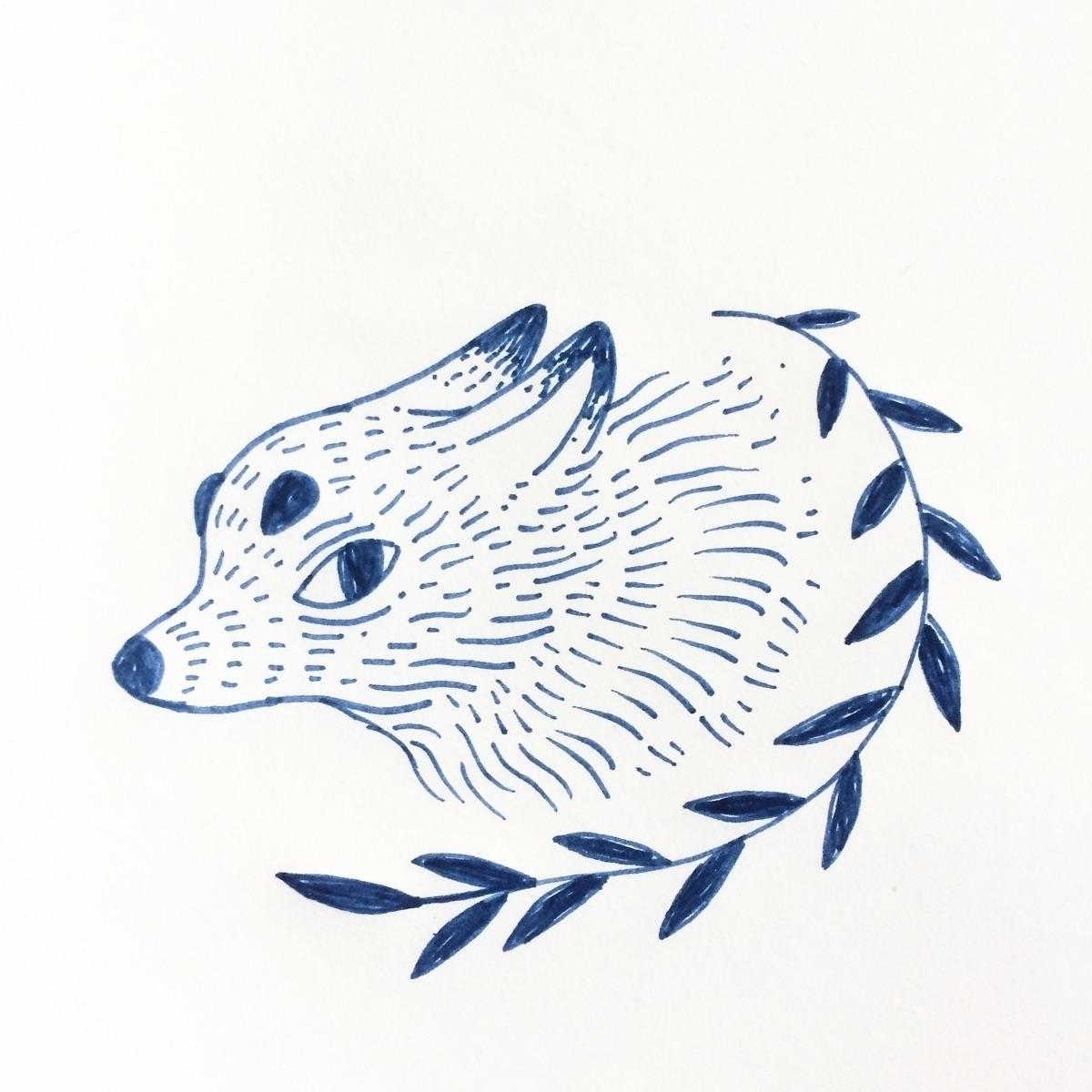 Flash tattoo draw - wolf, ink, flash - skeenep | ello