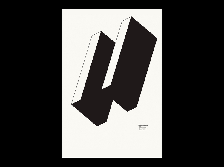 Helvetica Neue Type Specimen Si - mbdesign | ello