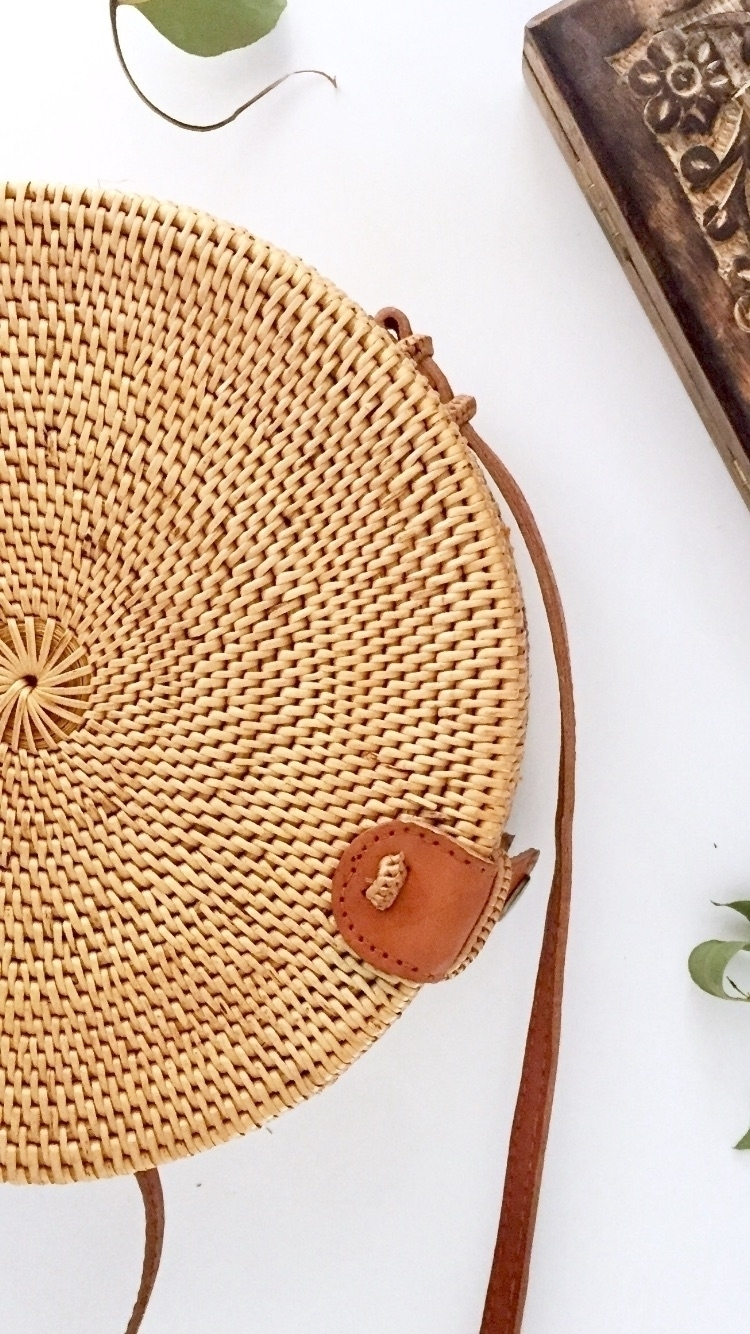 IVORY MOON BAG hand woven circl - theivoryfawn | ello