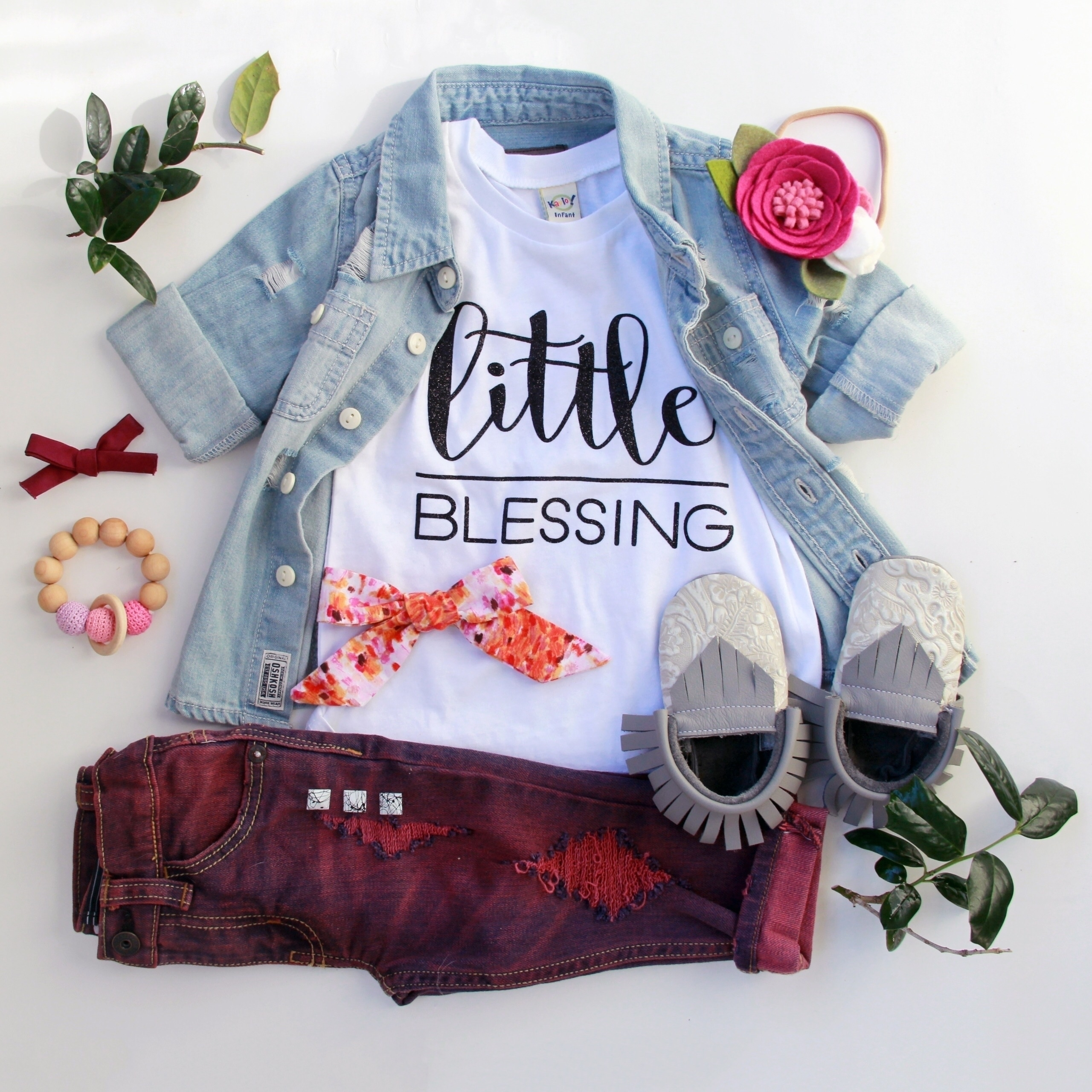 shirt started Blessing Collecti - littleblessingco | ello