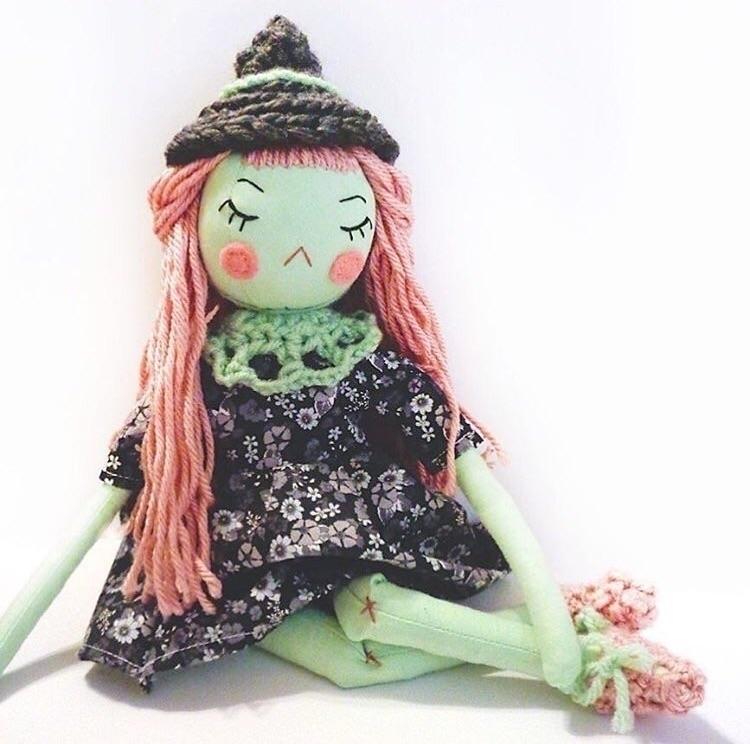 super cute sass resting witch f - nightlymade | ello