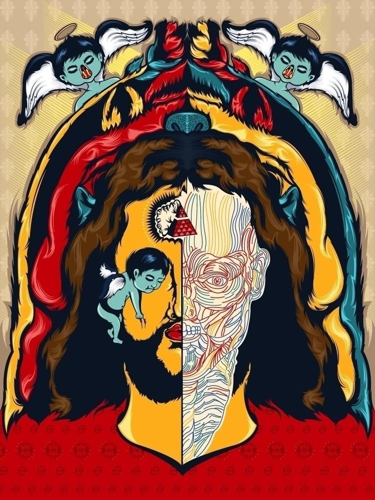 Anatomy Jesus - kzengjiang, art - kzengjiang   ello