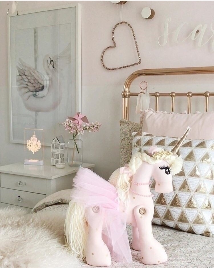 stunning space! Loving Unicorn  - mynightlight | ello