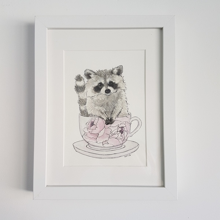 A5 nursery original artworks $5 - somethingfromkatie | ello