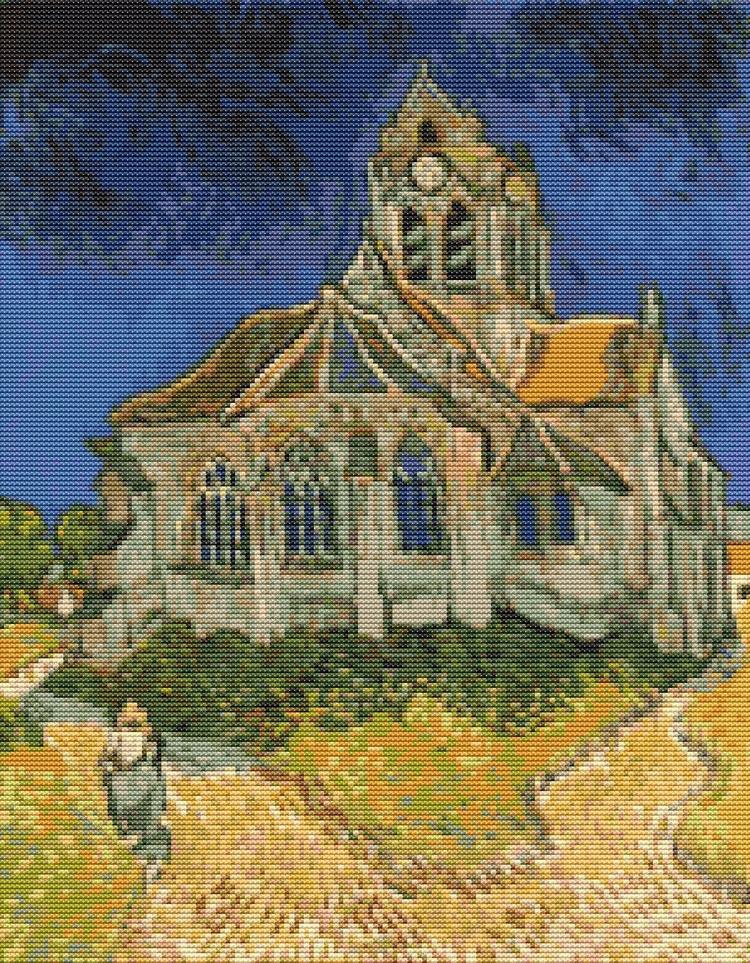 Cross Stitch Pattern PDF Church - theartofstitch | ello