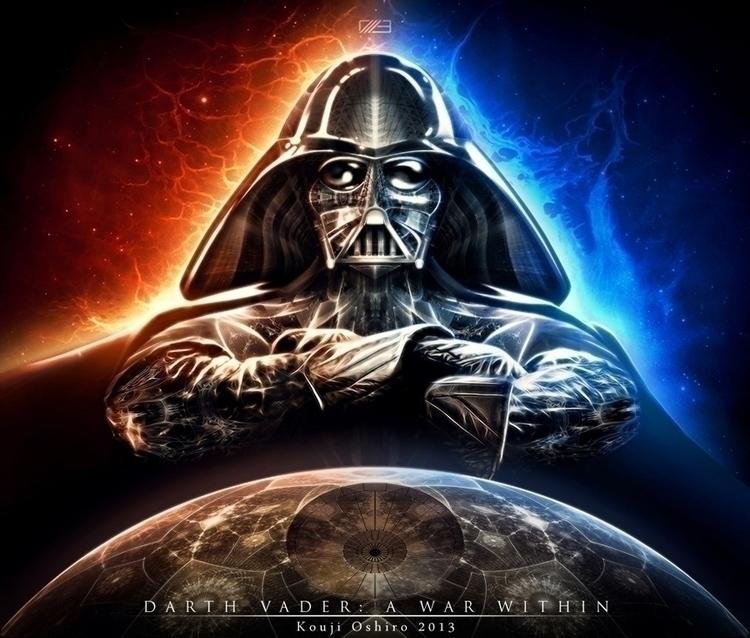 Darth Vader: war artwork Slasht - koujioshiro   ello