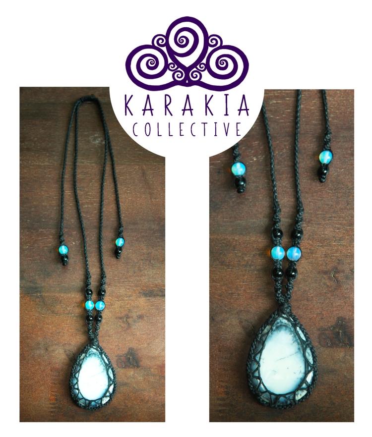 Dendritic quartz talisman ampli - cherrie-karakia | ello