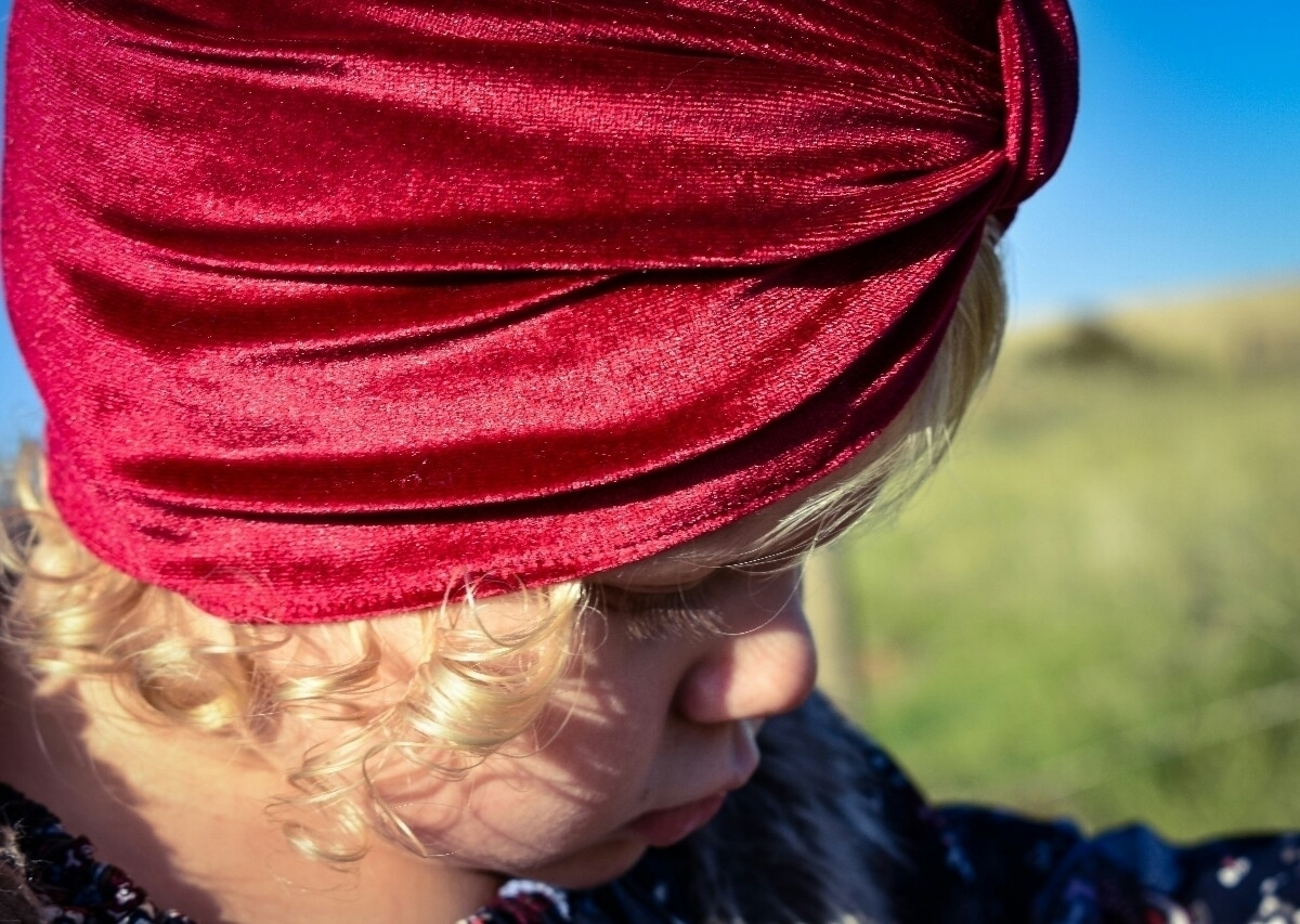 Curls Love curls peeking turban - mylittlerussiandoll | ello