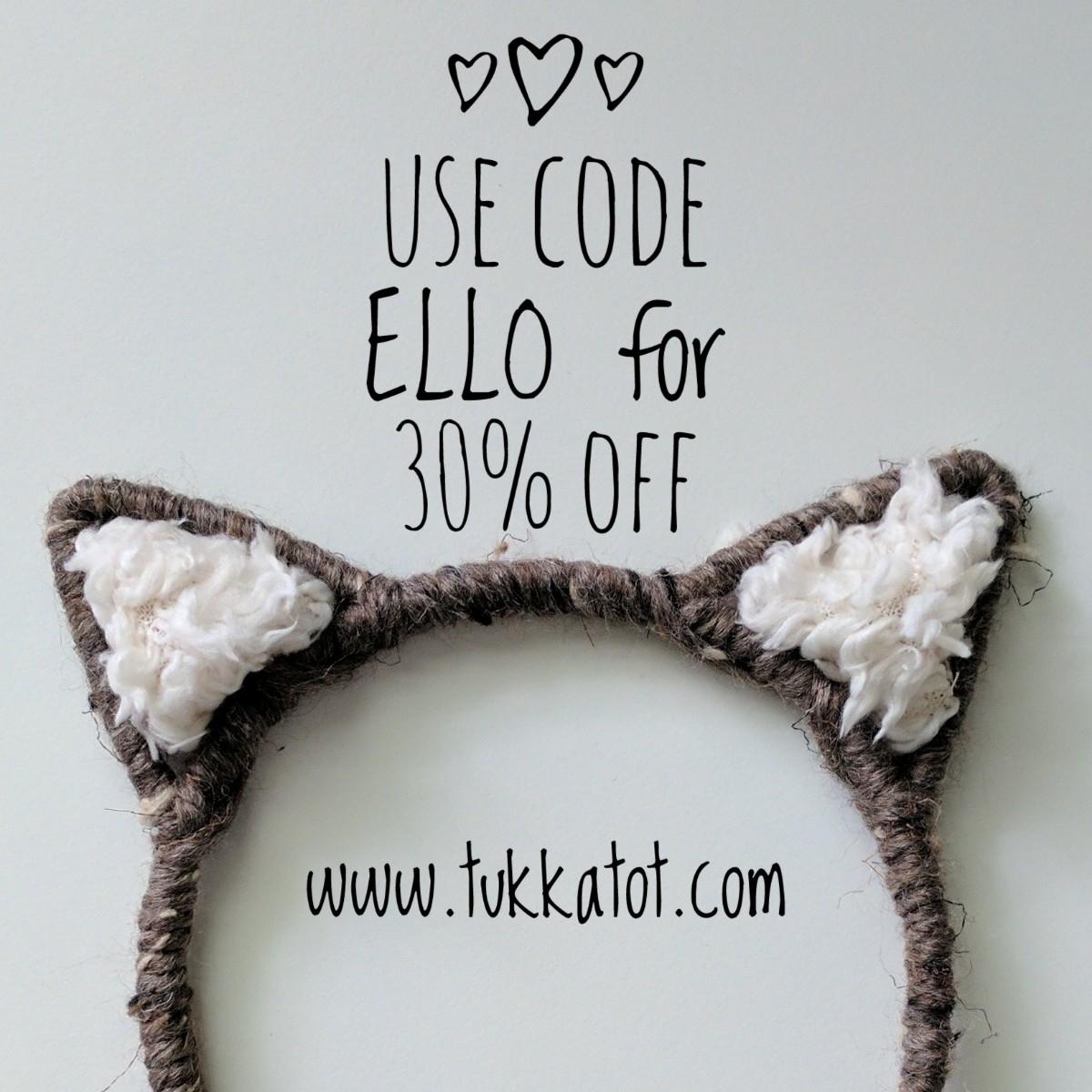 stopping code ELLO 30% !  - ellomaker - tukkatot | ello