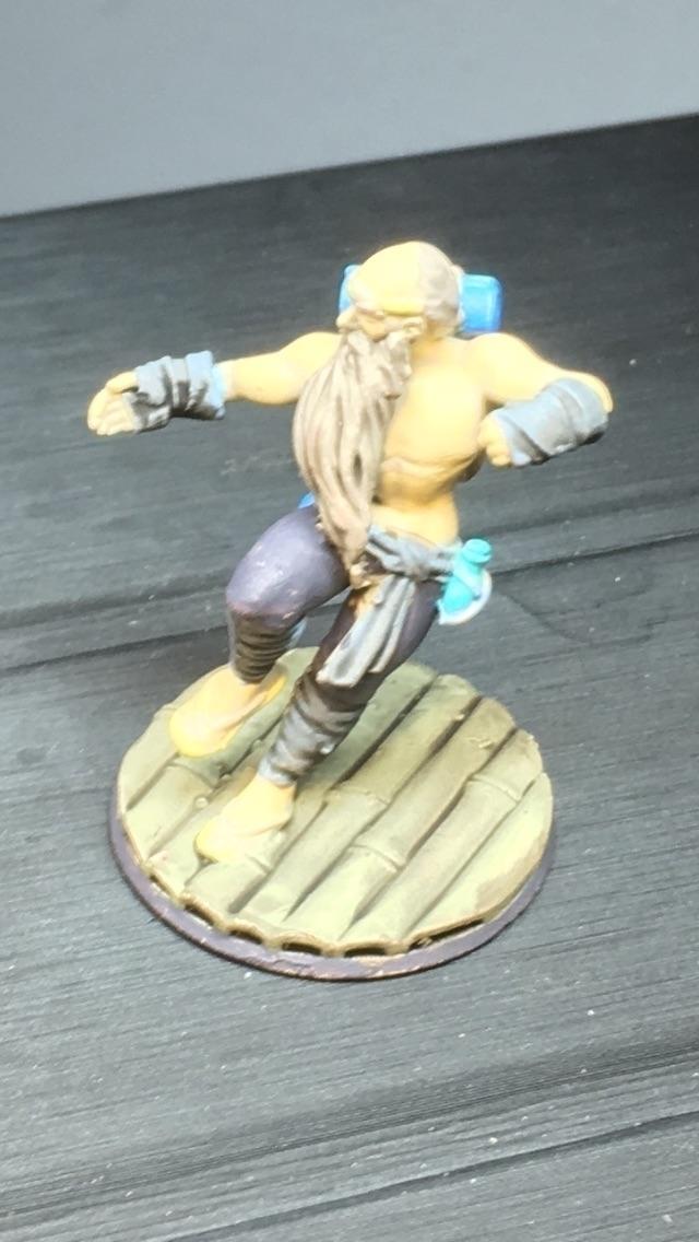 Pathfinder Iron-Fist Warpriest  - earlbingham | ello