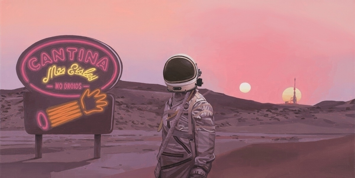 Hey! allowed. painting FRANCHIS - scottlistfield | ello
