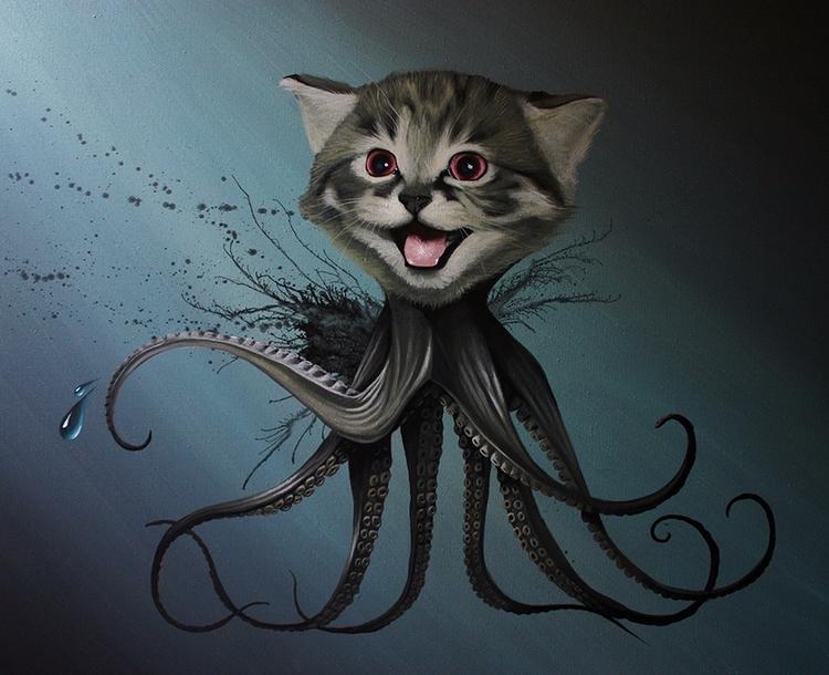 17x22 Octopussy print robertbow - bowenstuff | ello