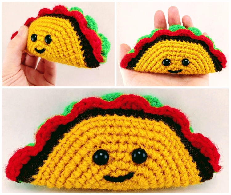 Happy drill - TacoTuesday!, handmade - miniaturemonkeycreations | ello