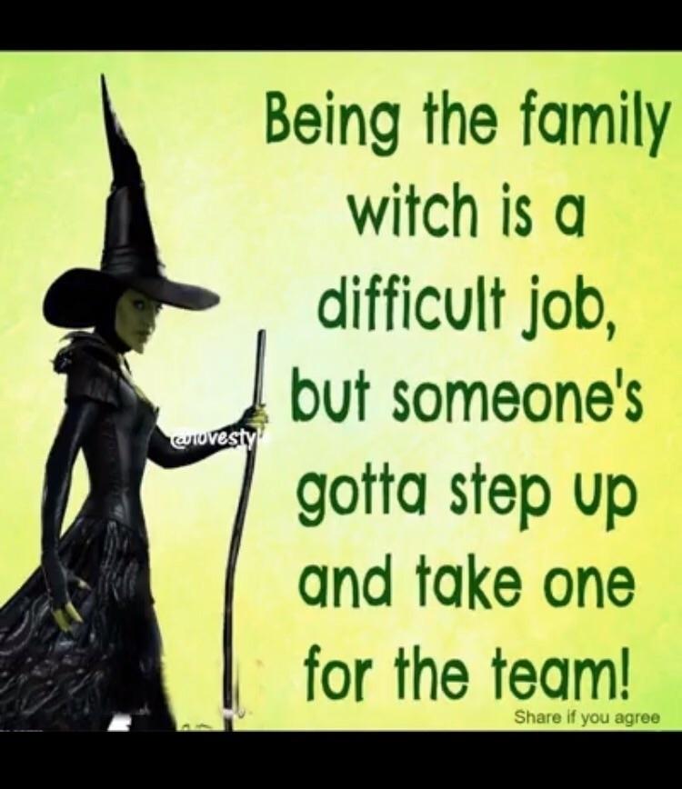 Yep - witch - elementalvibes | ello