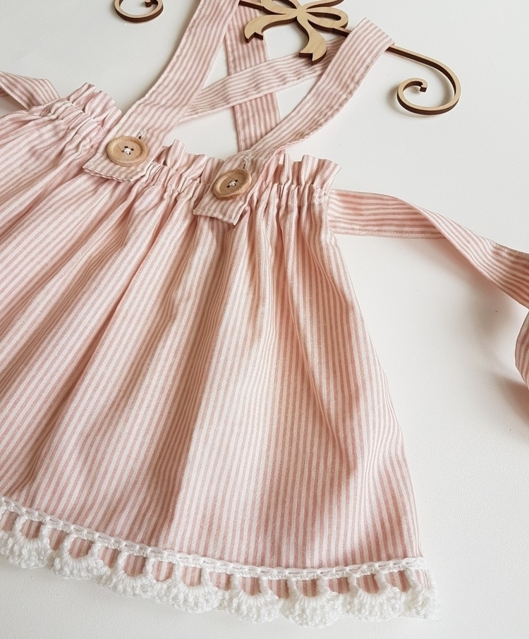 gorgeous candy stripe Suspender - peachandpoppy | ello