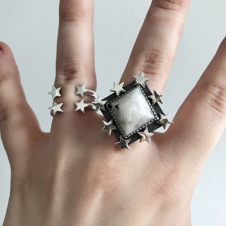 Rings rings star studded Ziggy  - theserpentsclub | ello