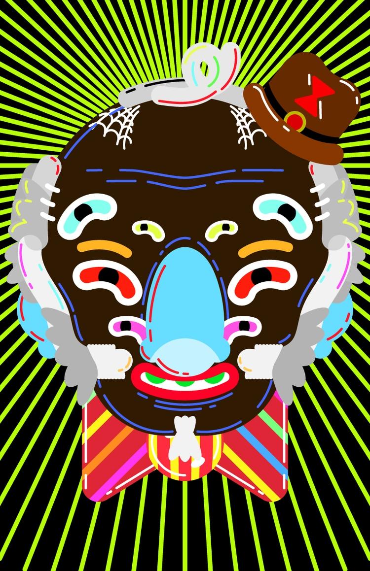 American Gods - Nancy/Anansi - illustration - natekogan   ello