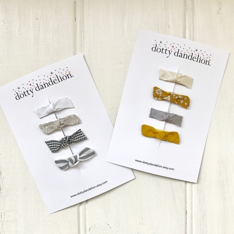 Tiny clip sets restocked Libert - dotty_dandelion | ello