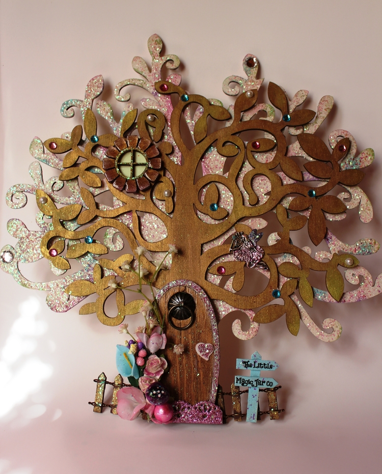 create 30cm Tree MagicalTree - WoodenFairy - magicjar | ello