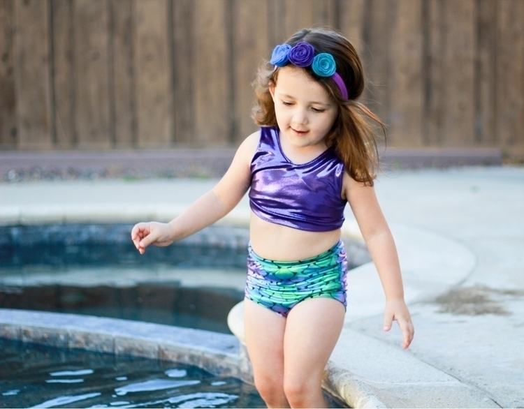 Mermaid bathing suits live!!  - mermaid - bitsybabyshop | ello